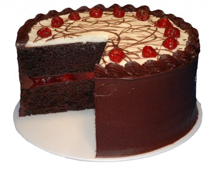 Шварцвальдский вишневый торт самые самые десерты