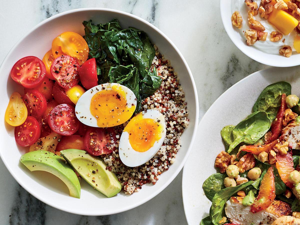 Вкусная Здоровая Пища Для Похудения. Питание для похудения. Что, как и когда есть, чтобы похудеть?