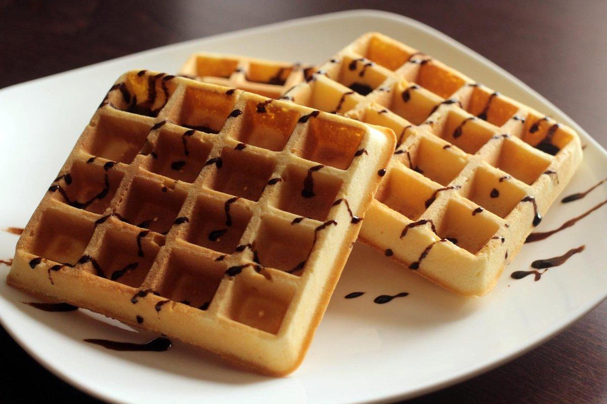 Бельгийские вафли - самые самые десерты
