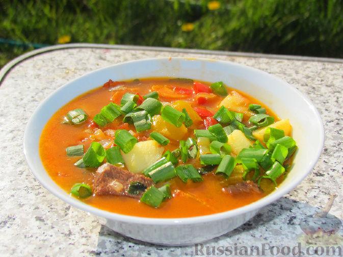 Бограч – венгерский суп