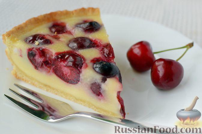 Черешневый тарт