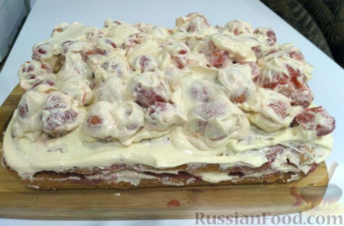 """Торт """"Клубничное безумие"""""""