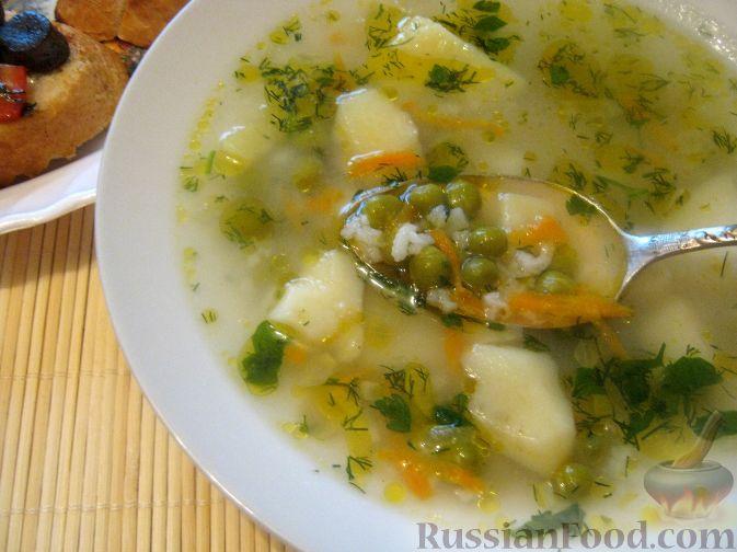 Сытный рисовый суп