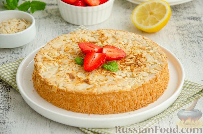 Миндальный пирог