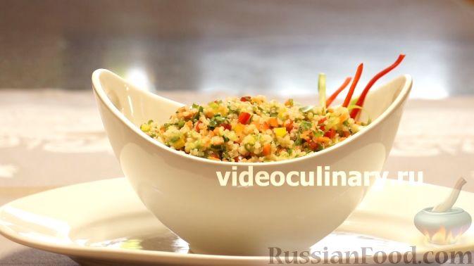Диетический салат из киноа