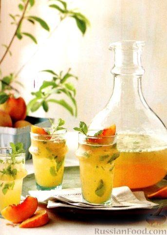 Мохито из персиков