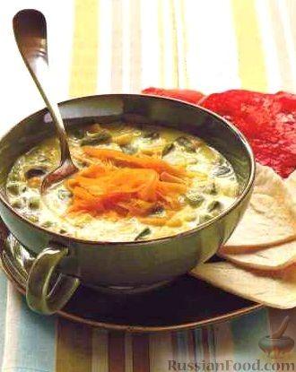 Острый кукурузный суп