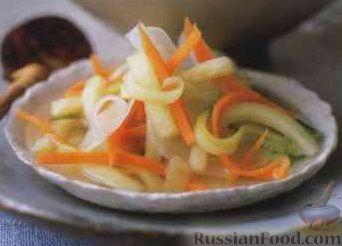 Салат из маринованных корнеплодов