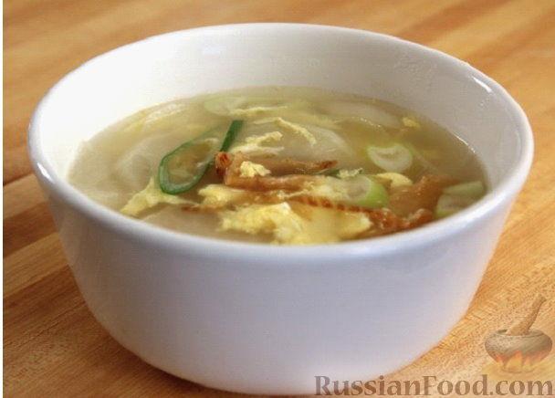 Суп из сушеной рыбы по-корейски (букогук)