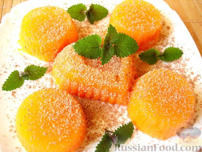 Тыквенное желе с апельсиновым ароматом