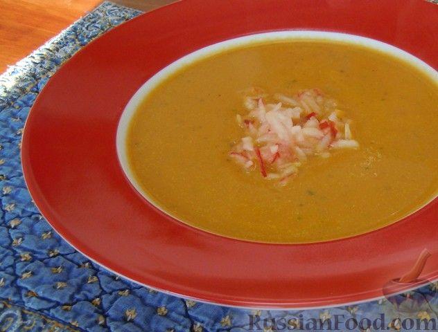 Тыквенный суп-пюре с имбирем