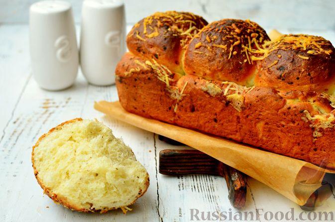 Хлеб с пармезаном и орегано