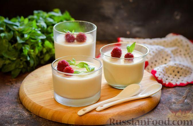 Молочно-йогуртовое желе с кофе (на агар-агаре)