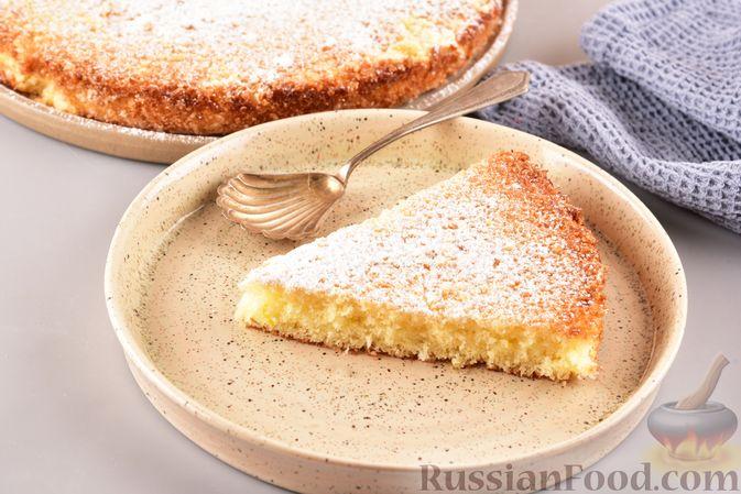 """Лимонный пирог """"Четыре четверти"""""""
