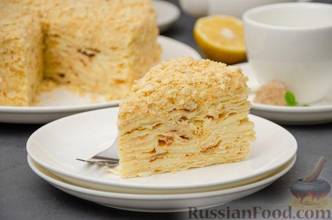 """Торт """"Наполеон"""" на сковороде"""