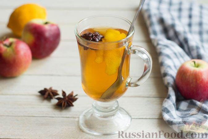 Яблочный безалкогольный глинтвейн