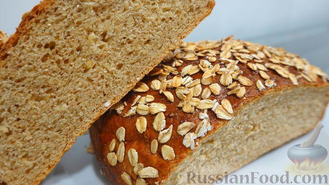 Овсяный хлеб с мёдом (по скандинавскому рецепту)