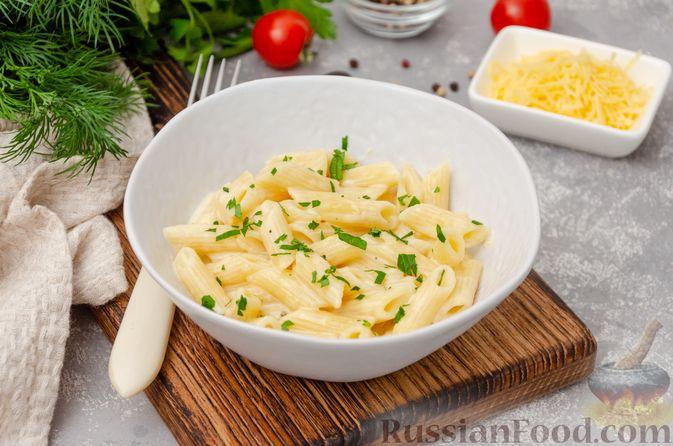 Макароны с сыром (в микроволновке)