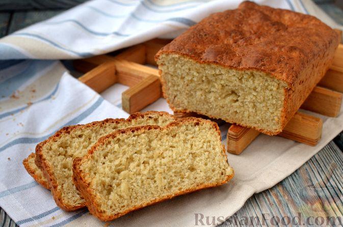Хлеб на картофельном отваре, с овсянымы хлопьями