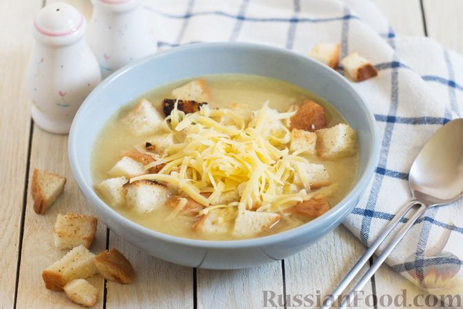 Луково-картофельный суп-пюре