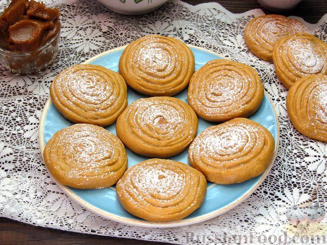 Печенье на варёной сгущёнке