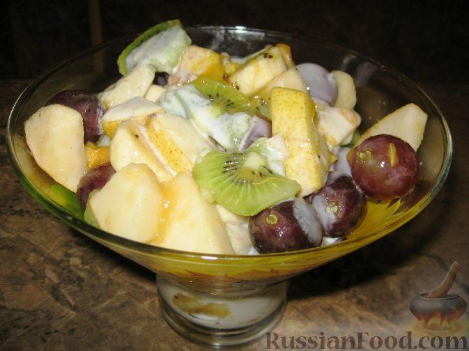 Фруктовый салат «Осенний»
