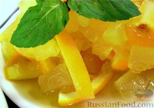 Варенье из кабачков и апельсинов