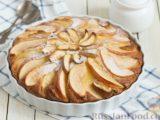 Тыквенный пирог с айвой, яблоком и пряностями