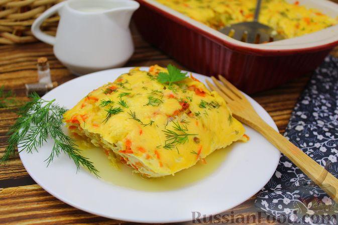 Запеканка из пекинской капусты с сыром