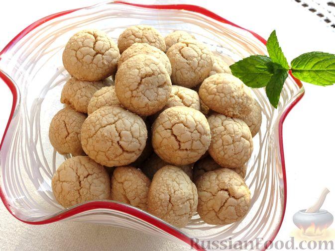 Песочное печенье из жареной муки