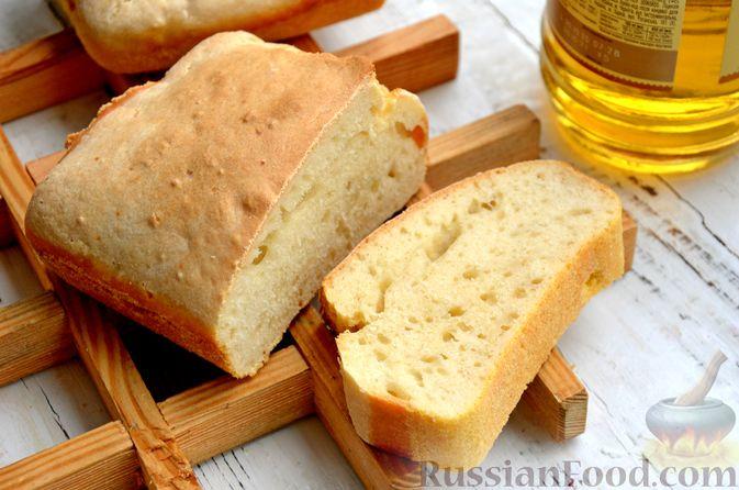 Бездрожжевой хлеб на пиве