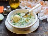 Овощной суп с рыбными фрикадельками