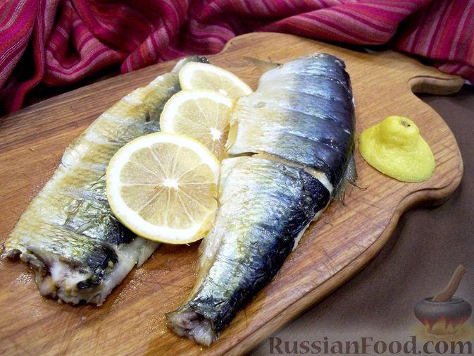 Копчёная рыба на сковороде