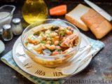 Суп с нутом и свиными рёбрышками