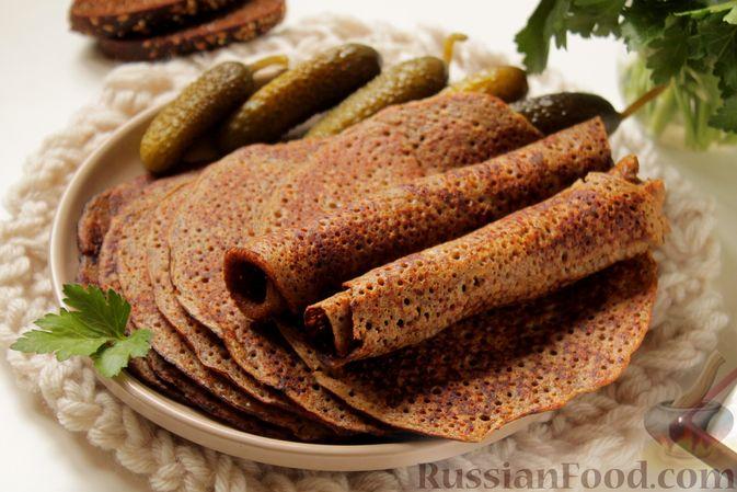 Блинчики из ржаного хлеба