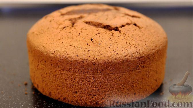 Шоколадный бисквит на какао