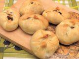 Пирожки с яблоками, из песочного теста на сметане
