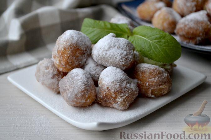 Мини-пончики на йогурте