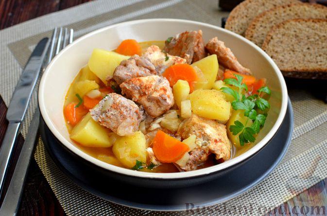 """Густой немецкий суп """"Пихельштайнер"""" из свинины, говядины и курицы"""