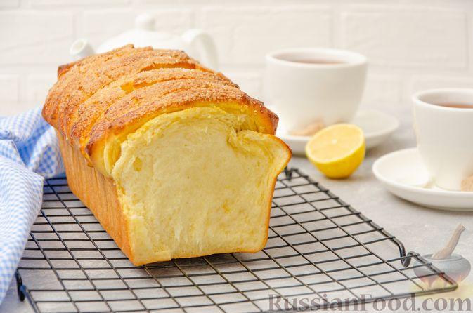 Отрывной сладкий хлеб с сахарной корочкой