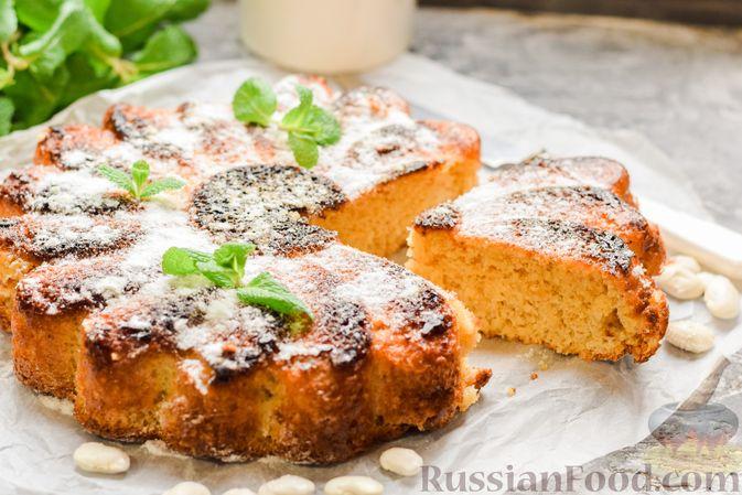 Сладкий пирог из белой фасоли